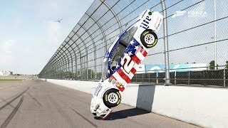 Download STUCK ON THE FENCE!!! | Forza Motorsport 6 | NASCAR Expansion Video