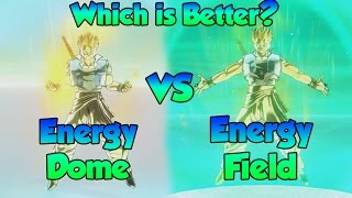 Download Which Evasive Skill is Better? Energy Dome or Energy Field! - Dragon Ball Xenoverse 2! Video
