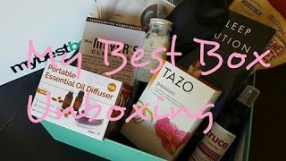 Download My Best Box Healthy Lifestyle Subscription Box Unboxing Video