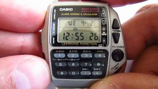 Download Casio wrist remote controller wristwatch CMD 40 Alarm Chrono Calculator Video
