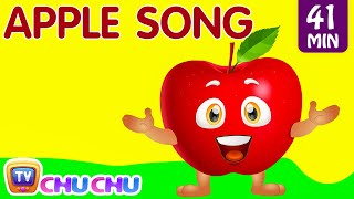 Download Apple Song | Learn Fruits for Kids and More Educational Learning Songs & Nursery Rhymes | ChuChu TV Video