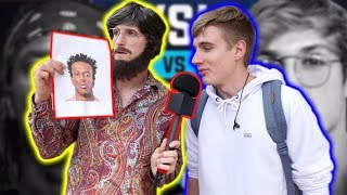 Download ASKING COLLEGE STUDENTS WHO WILL WIN THE KSI VS. LOGAN PAUL FIGHT! (disguised) Video