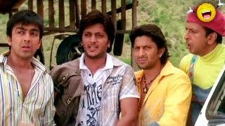 Download Dhamaal - Paasha bhai return from Dubai - Sanjay Dutt, Ritesh Deshmukh & Arshad Warsi Video