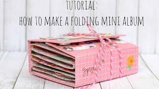Download Tutorial: How to create a folding mini album Video