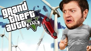 Download GTA 5 PC Online Funny Moments - WINDMILL DEATH RUN! (Custom Games) Video