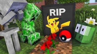 Download Monster School : RIP POKEMON Pikachu Challenge - Minecraft Animation Video