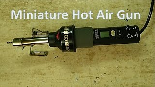 Download Miniature Hot Air Gun for SMT Rework from Banggood Video