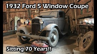 Download Estate Auction Adventure- 1932 Ford Coupe Barn Find ! Video