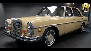Download 1973 Mercedes Benz 280 SEL Stock # 639-DET Video