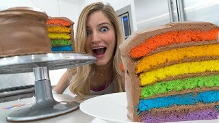Download 🌈 How to make a Rainbow Cake! Video