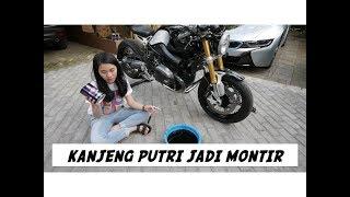 Download Cara Ganti Oli Motor ft. Kanjeng Putri - #vlog 156 Video