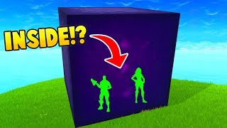 Download PLAYERS INSIDE THE CUBE! (Fortnite FAILS & WINS #17) Video
