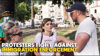 Download Protesters Fight Against Immigration Enforcement | FLECCAS + SLIGHTLY OFFENS*VE Video