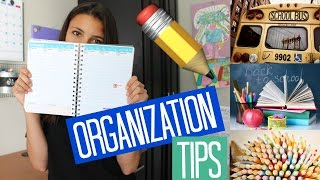 Download How To Stay Organized for Back To School! Tips and Tricks Video