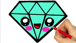 Download HOW TO DRAW A DIAMOND Video