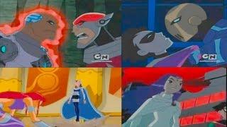 Download Teen Titans defeat their villains Video