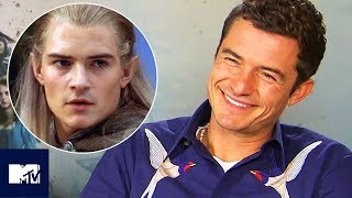 Download Orlando Bloom Wants A Legolas 'Lord Of The Rings' Spinoff Series🏹🏹   MTV Video