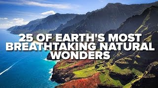 Download 25 Of Earth's Most Breathtaking Natural Wonders Video