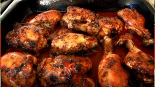 Download Jerk Chicken !! OVEN BAKED Video