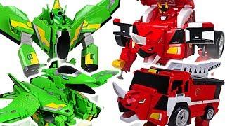 Download Jurassic Cops Evolution Jutera, Jutops dinosaur, car, robot 3 transformers appeared! #DuDuPopTOY Video