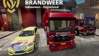 Download GTA IV - Firefighter Mod - Dutch Fire Dept / Brandweer Video