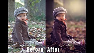Download Photoshop Tutorial How to Edit Outdoor Portrait (Child) in Photoshop Cs6 & CC Video