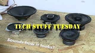 Download Do speakers sound like they look? - Tech Stuff Tuesday Video