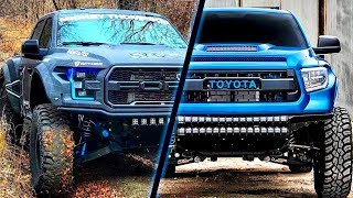 Download CRAZIEST and POWERFUL TRUCKS (Raptor, Tacoma, Cummins) | ROLLING COAL Video