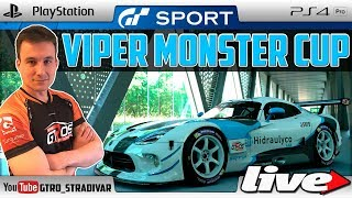 Download 🔴 GT SPORT - DIRECTO | VIPER MONSTER CUP - DRAGON TRAIL LITORAL II | GTro stradivar Video