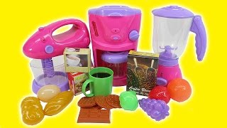 Download Kitchen Toys for Children Toy Kitchen Playset for Kids Coffee Maker Video