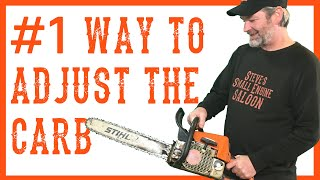 Download How to Adjust or Tune the Carburetor on a Chainsaw Video Video