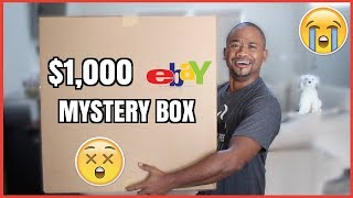 Download $1000 Mystery Box from Ebay | THEY SET ME UP !! Video