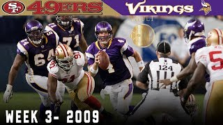 Download The Original Minneapolis Miracle! (49ers vs. Vikings, 2009) | NFL Vault Highlights Video