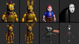 Download Five Nights at Fredbear's - EXTRAS / All Animatronics / Custom Nights Video