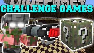 Download Minecraft: PIGMAN SOLDIER CHALLENGE GAMES - Lucky Block Mod - Modded Mini-Game Video