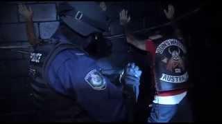 Download Major interstate police crackdown on bikies Video