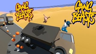 Download Gang Beasts - Road Kill [Father and Son Gameplay] Video