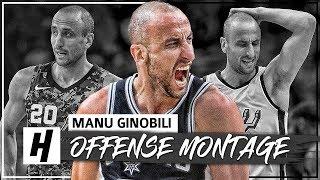 Download 30 Minutes of Manu Ginobili LAST NBA Season - CRAZY Full Highlights 2017-18 (HD) Video
