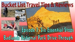 Download Six Essential Stops: Badlands National Park Drive-Through Video