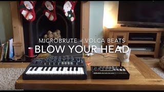Download Microbrute + Volca Beats: Blow your head Video