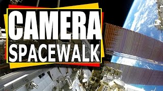 Download Nasa Video: I Am a Camera On a Spacewalk : ISS Spacewalk Video Footage Video