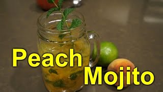 Download Peach Mojito - Great Summer Garden Drink Video