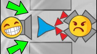Download Diep.io FUNNY TRAPPING TEAMS IN MAZE MODE // Diepio Funny Moments FT WORMATE.IO Video