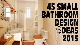 Download 45 Small Bathroom Design Ideas 2015 Video