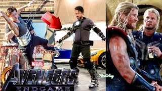 Download Avengers: Infinity War Cast Stunt Performances With Out Stunt Doubles - 2018 Video
