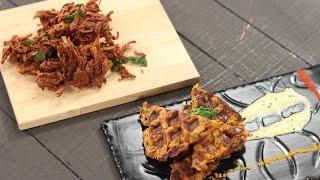 Download Kanda Bhaji   Best Foodie Friends   Chef Anupa   Sanjeev Kapoor Khazana Video