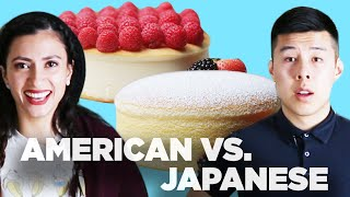 Download American Vs. Japanese: Cheesecake Video