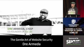 Download JWC 2016 - The Gentle Art of Website Security - Dre Armeda Video