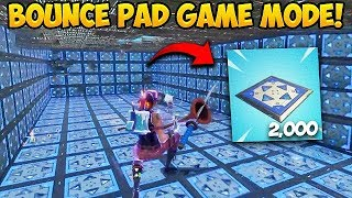 Download *NEW* BOUNCE PAD Custom Gamemode! - Fortnite Funny Fails and WTF Moments! #270 Video