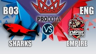 Download EMPIRE VS SHARKS | PRO DOTA CUP | BO3 | ENG CAST| LIVE ! Video